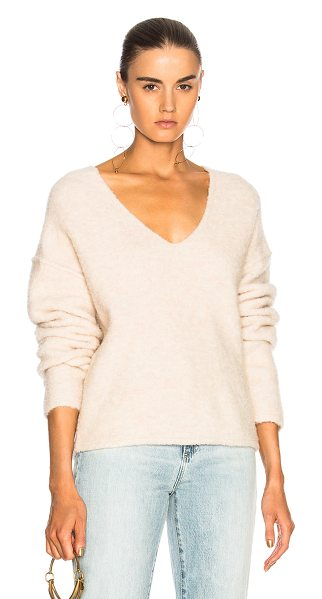 AG ADRIANO GOLDSCHMIED Skye Sweater - 58% wool 19% alpaca 19% nylon 4% spandex.  Made in...