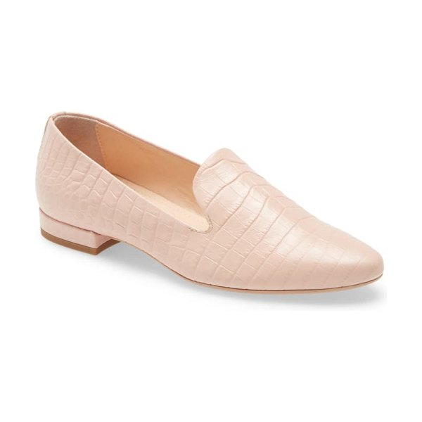 AGL cap toe loafer in pink