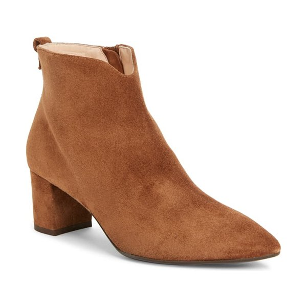 AGL notch bootie in brown