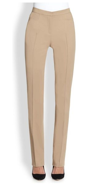 Akris punto Francesca techno pants in tan
