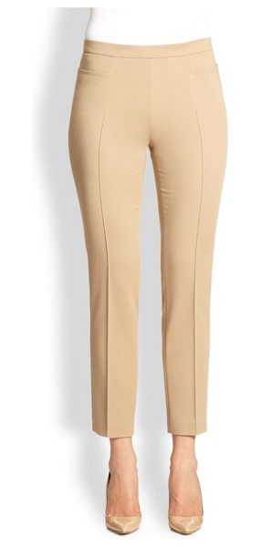 AKRIS PUNTO 1400 techno cotton franca pants - EXCLUSIVELY AT SAKS FIFTH AVENUE. Streamlined skinny...