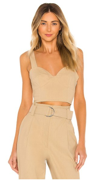 A.L.C. alessandra top in sand