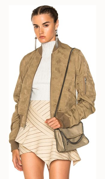A.L.C. Andrew Jacket in abstract,neutrals - Self: 79% viscose 21% cotton - Lining: 51% poly 49%...