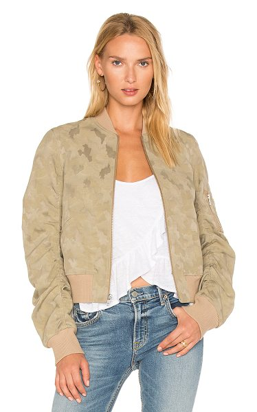A.L.C. Andrew Jacket in stone - The basic bomber made for daily wear: A.L.C.'s Andrew...
