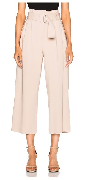A.L.C. Dillon Gaucho Pants - 97% viscose 3% elastan.  Made in China.  Dry clean only....
