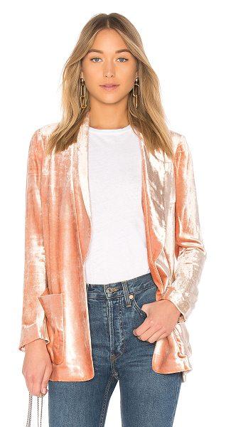 A.L.C. Ford Jacket in pink - Designed in a rich velveteen finish, the A.L.C. Ford...