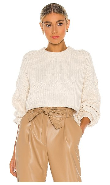 A.L.C. lianne sweater in cream