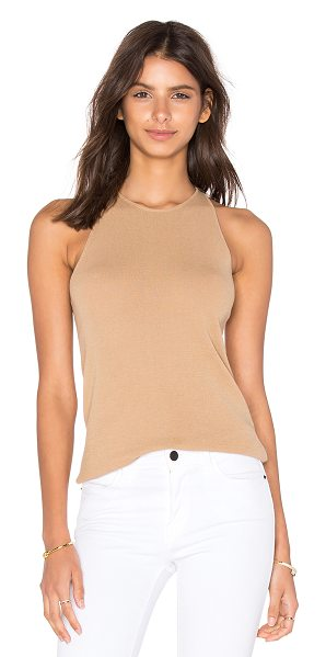A.L.C. Nello Top in nude - Cotton blend. Hand wash cold. ALX-WS78. 9536. Founded by...