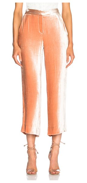 A.L.C. Robbie Pants in pink - 84% viscose 16% silk.  Made in China.  Dry clean only. ...