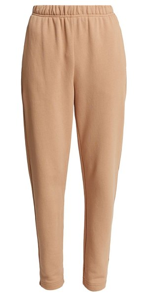 A.L.C. roger tapered cotton sweatpants in desert beige