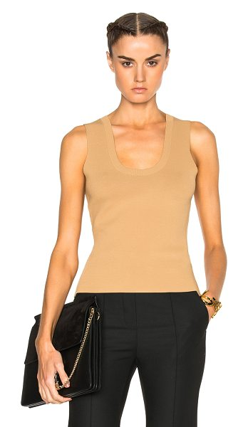 A.L.C. Yasmin Top in neutrals - Founded by Andrea Lieberman, A.L.C. is a ready-to-wear...