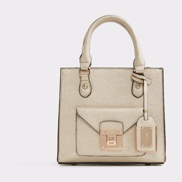 ALDO Abaossa in gold - Tote modern. This smart structured mini tote hits all...