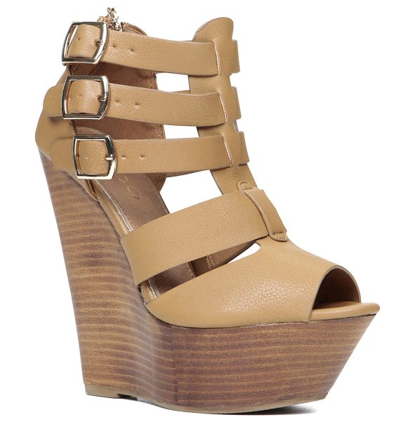 ALDO Abausa sandals - We love these platform wedge sandals for their...