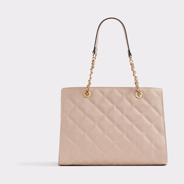 ALDO Abilian in light pink - Nothing says sophistication like a black classic tote....