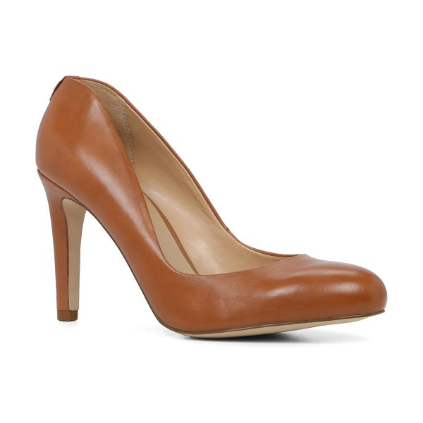 ALDO Aliliwien in cognac - The classic pump updated with a dipped toe-coverage and...