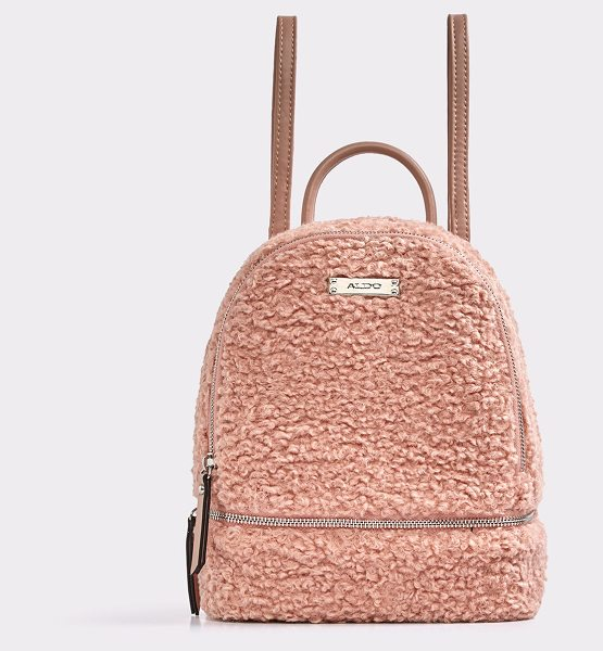 ALDO Anacoedo in light pink - Our plush top closure knapsack is perfect for you to...