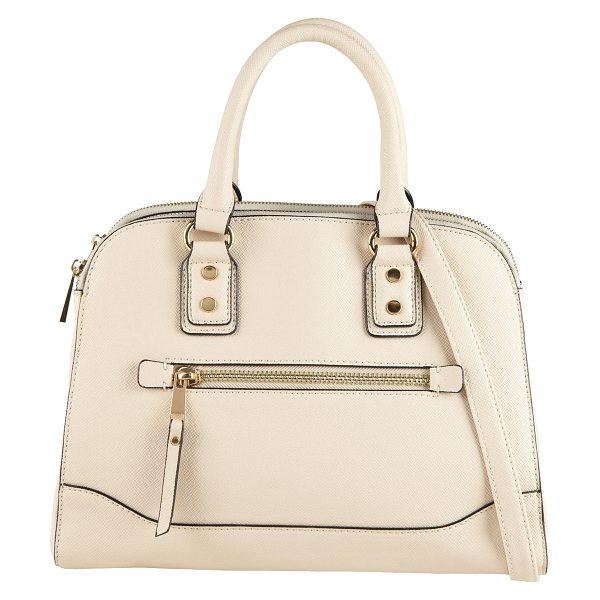 ALDO Anakardo tote in white/cream - Your fall looks will be more than trendy with this ultra...