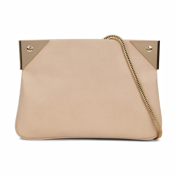 ALDO Appleblues clutch in bone - This feminine evening clutch is the perfect accessory to...