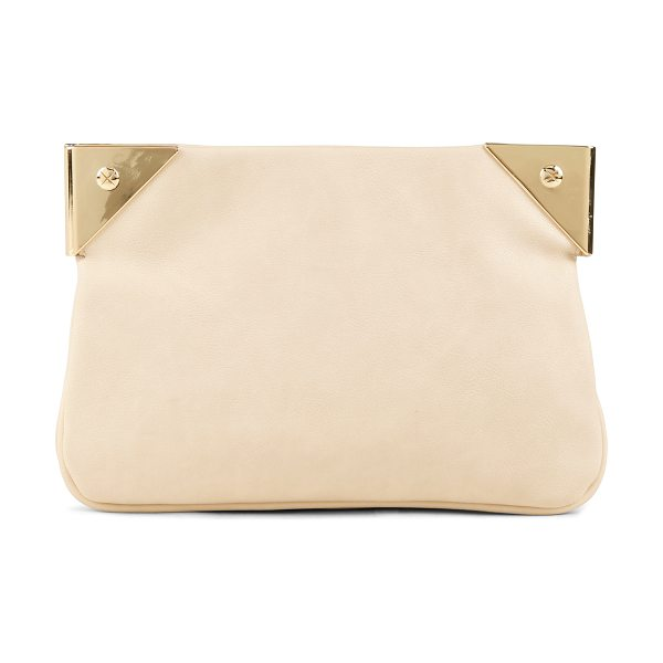 ALDO Appleblues clutch in white/cream - Evening Clutch. - Metal detail. - Textile lining. -...