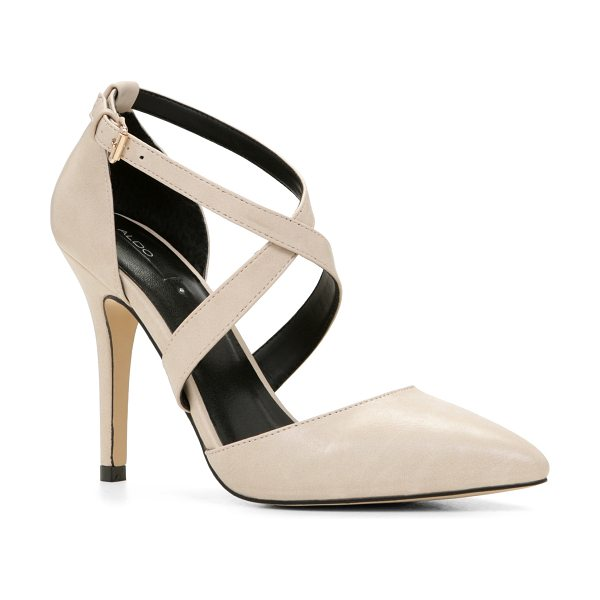 ALDO Aresa pumps in bone - Complete your glamorous ensembles with this fierce high...