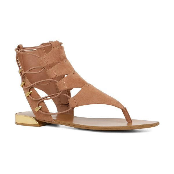 ALDO Athena in light brown - A trend-right sock-thong sandal your entire wardrobe can...