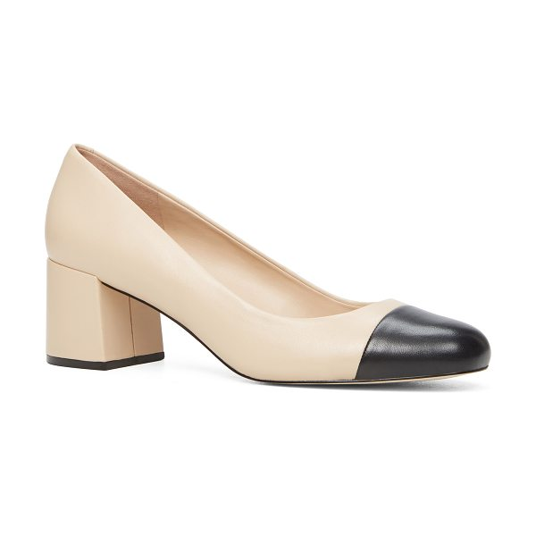 ALDO Bellone in bone - Channel demure sophistication in this two-tone...