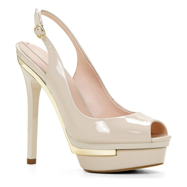 ALDO Bitta pumps in bone - Be the star of the evening with these alluring two-tone...