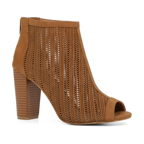 ALDO Brusuglio pumps - The peep-tow bootie redefined with laser-cut leather,...
