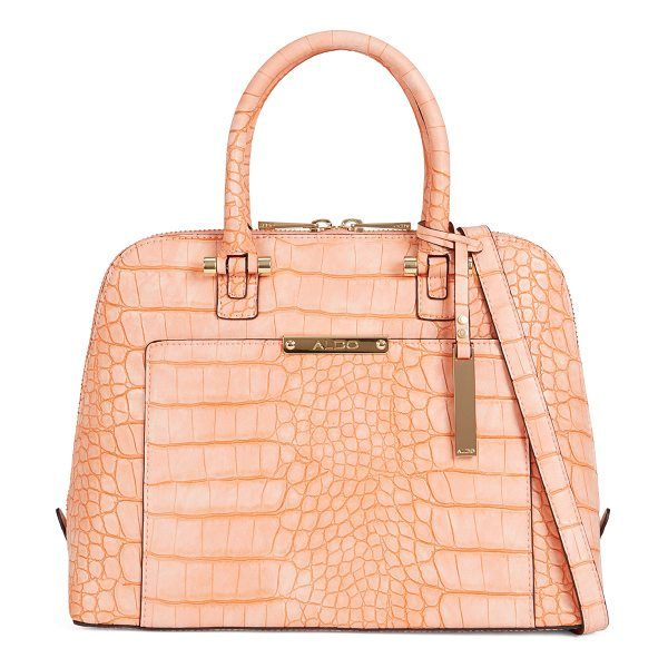 ALDO Caltabellotta in peach - A structured bag with minimalist hardware goes is a...