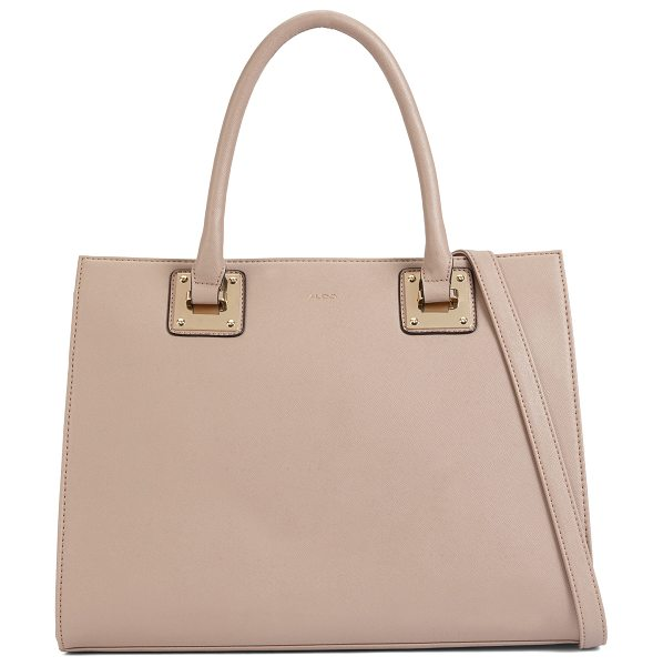 ALDO Casoli in taupe - A day's essentials are best carried in a structured...
