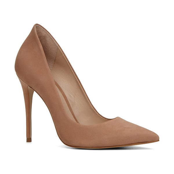 ALDO Cassedy in natural - The original stiletto reclaims its high and mighty...