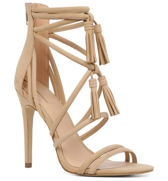 ALDO Catarina in bone - A caged silhouette and tassel ties make any occasion a...