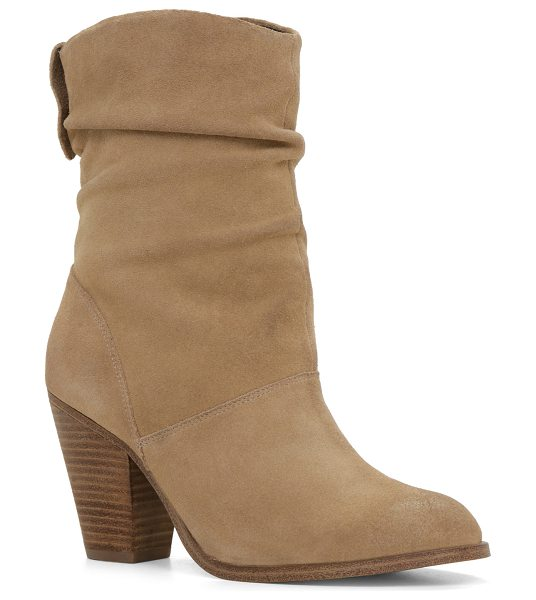 ALDO Consuma in bone - These beautiful pleated boots are a great pick for any...