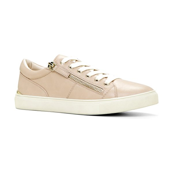 ALDO Corisa flats in bone - Sport these casual and comfortable lace-up sneakers for...