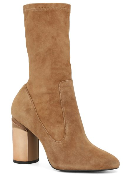 ALDO Crillan in camel suede - Fashionistas will simply adore these structured mid-calf...