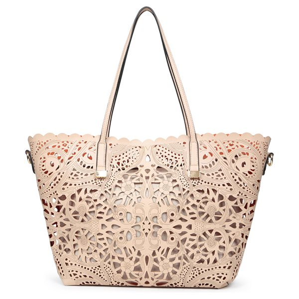 ALDO Cronic shoulder bag in beige/taupe - This season, this lovely bag will be on every woman's...