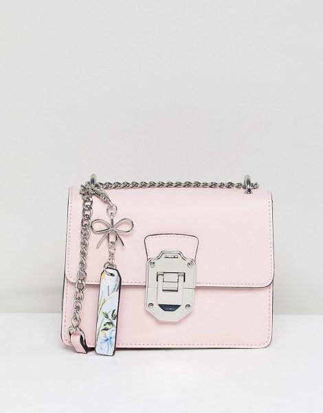 ALDO Cross Body Bag with Silver Hardwear in Pink in blush - Cart by ALDO, Compact size, For the days when you don t...
