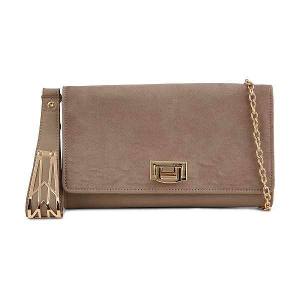 ALDO Darojana clutch in taupe - Pair this timeless clutch to your favorite evening...