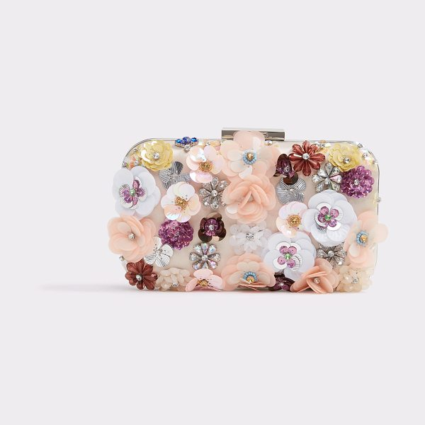 ALDO Daromara in light pink - A true minaudiere; small, compact, and suitable for your...