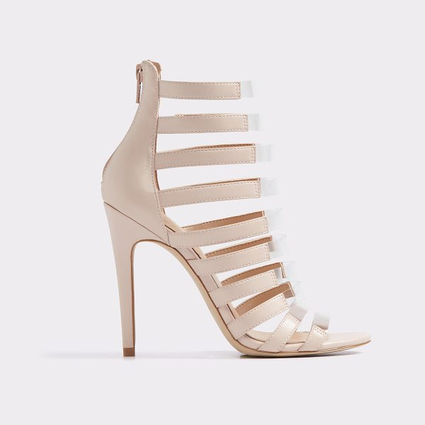ALDO Daysie in bone - Make a statement in of-the-moment caged high heel...