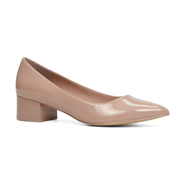 ALDO Deloris in light pink - This slip-on, block-heel, pointed-toe pump is your next...