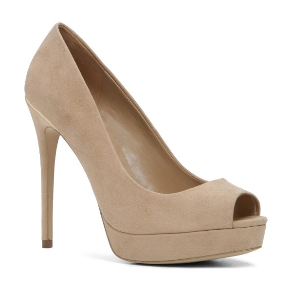 ALDO Depietro in bone - The open-toe pump is never NOT in style. Keep these...