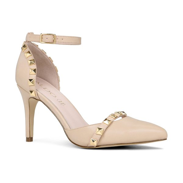 ALDO Drevia pumps - Ankle strap. - Single sole. - Pointy toe. - Studded...