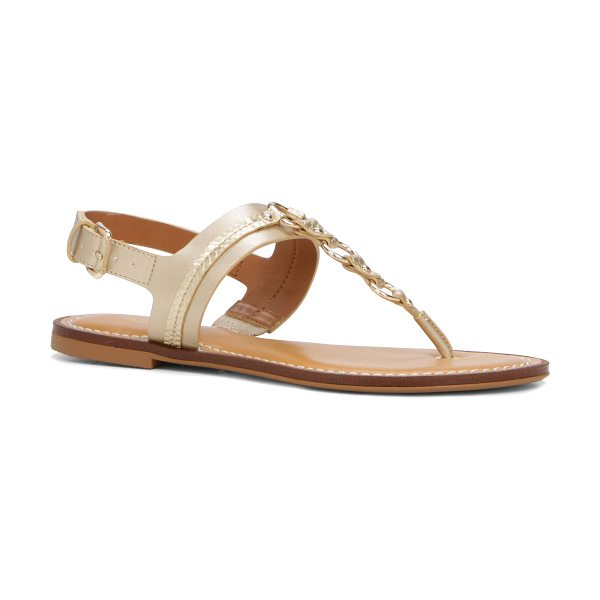 ALDO Edden in gold - Bling up your go-to sandals and make them ready for...
