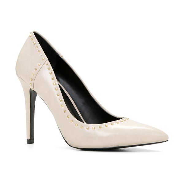ALDO Eldorienne pumps in bone - Channel simple elegance with these retro-looking pumps....