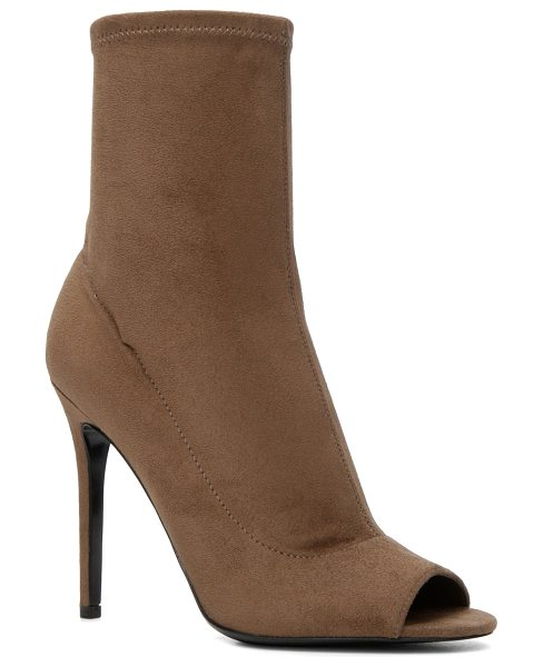ALDO Eliliane in taupe - Show off your pedi, even in booties. This sleek pair is...