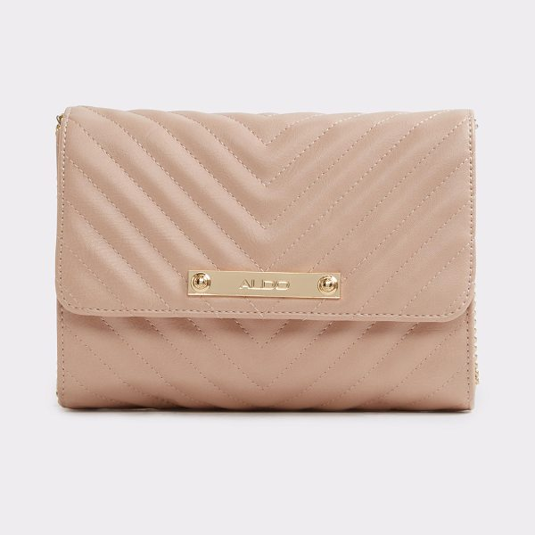 ALDO Eurofemm in light pink - Chevron-quilted (faux) leather and a structured shape...