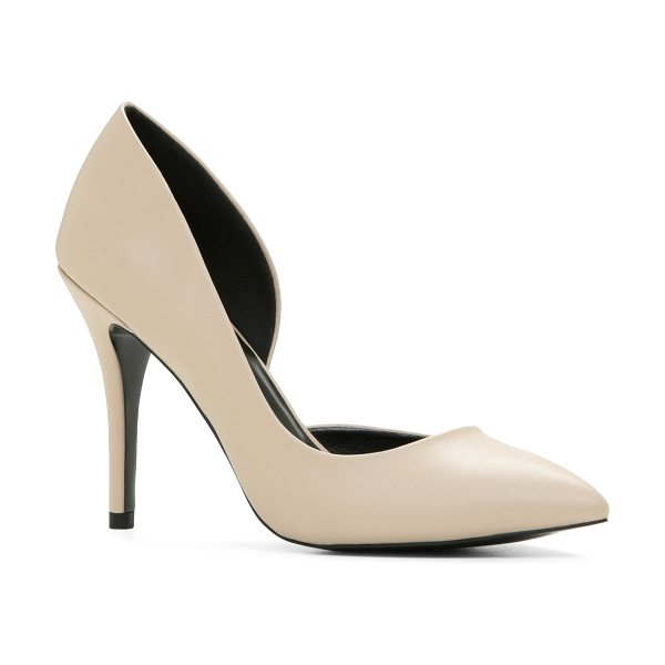 ALDO Fabriago pumps in bone - Easy to wear and easy to pair, these pointy toe pumps...