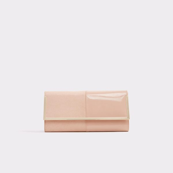 ALDO Faucheux in pink - A petite evening clutch makes the perfect party pal....