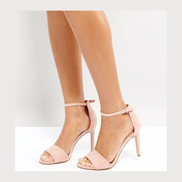 "ALDO Fiolla Blush Heeled Sandals - """"Heels by ALDO, Suede upper, Ankle-strap fastening,..."